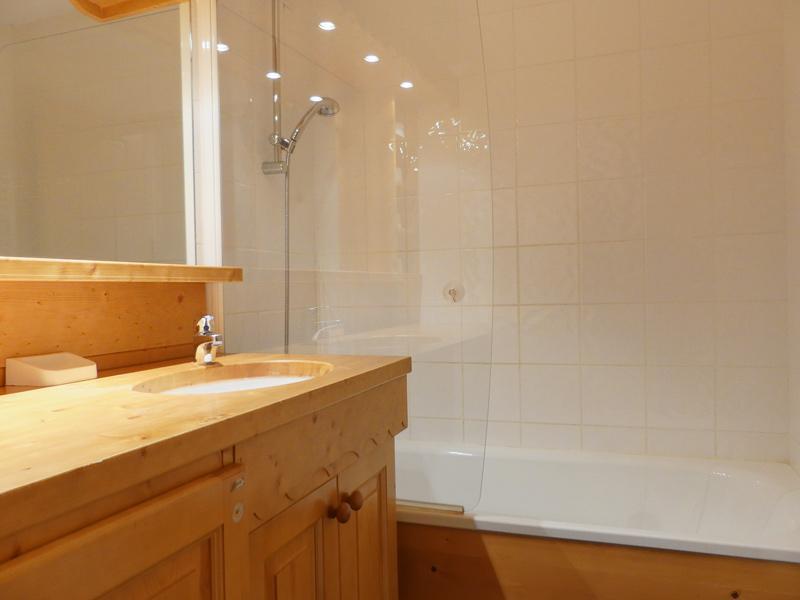 Location au ski Appartement 2 pièces mezzanine 6 personnes (1203) - Residence Plein Soleil - Mottaret - Extérieur hiver