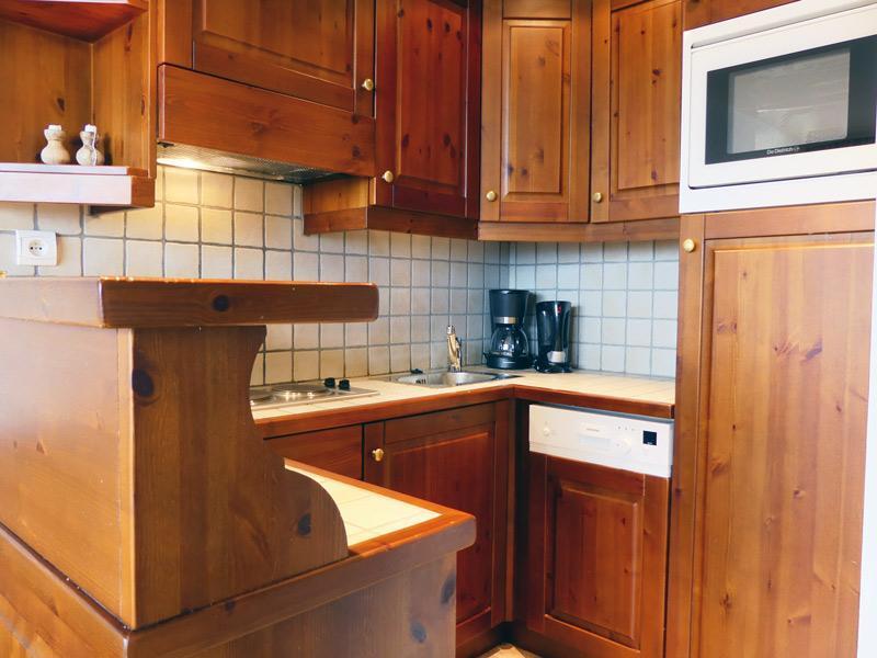 Location au ski Studio 2 personnes (912) - Residence Plein Soleil - Mottaret - Canapé-lit