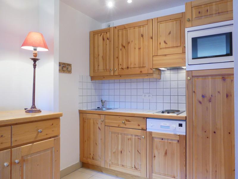 Location au ski Studio 3 personnes (901) - Residence Plein Soleil - Mottaret - Kitchenette