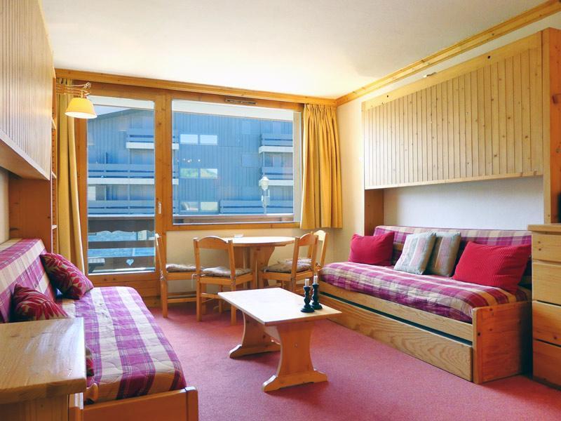 Location au ski Studio 3 personnes (901) - Residence Plein Soleil - Mottaret - Séjour