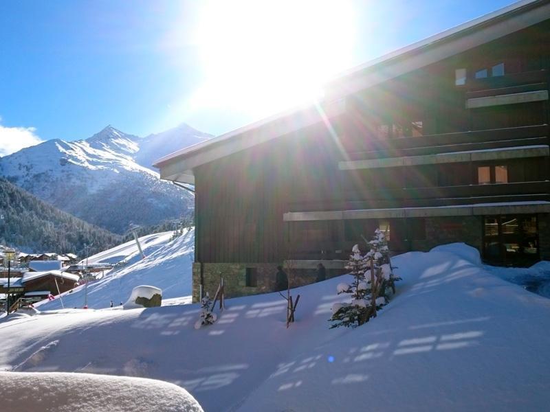 Location au ski Studio cabine 3 personnes (801) - Residence Plein Soleil - Mottaret - Lavabo
