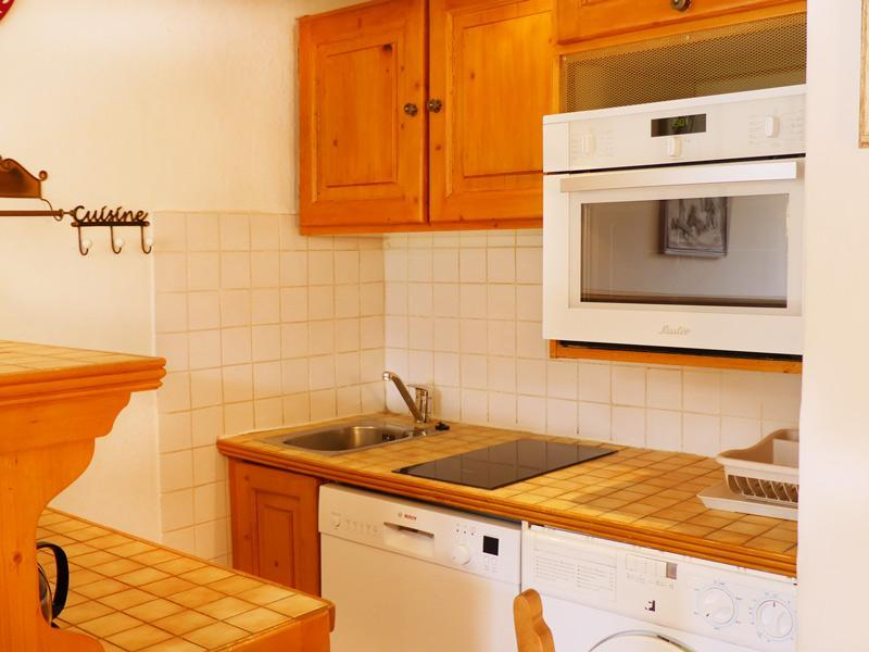Location au ski Studio cabine 3 personnes (801) - Residence Plein Soleil - Mottaret - Lits superposés