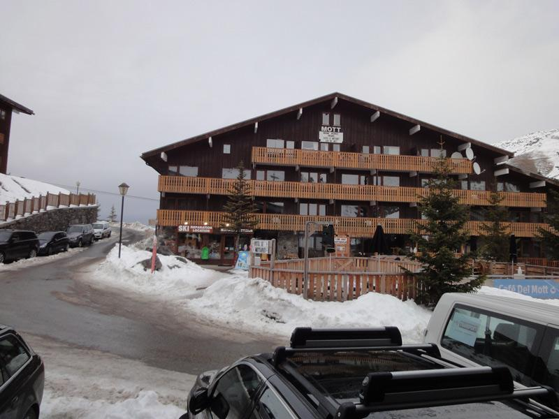 Location au ski Studio 3 personnes (008) - Residence Roc De Tougne - Mottaret - Table
