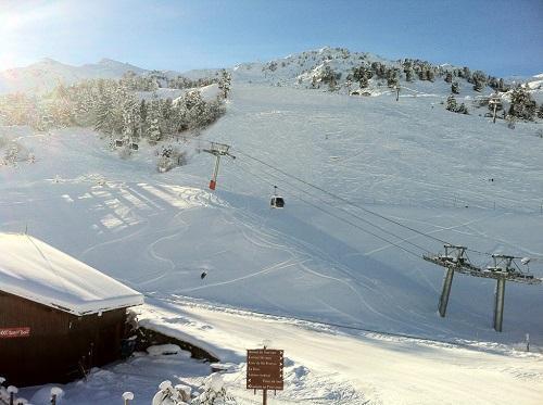 Location au ski Hotel Mont Vallon - Méribel-Mottaret - Plan