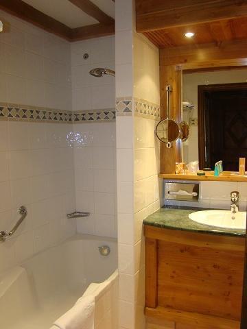 Location au ski Hotel Mont Vallon - Méribel-Mottaret - Salle de bains