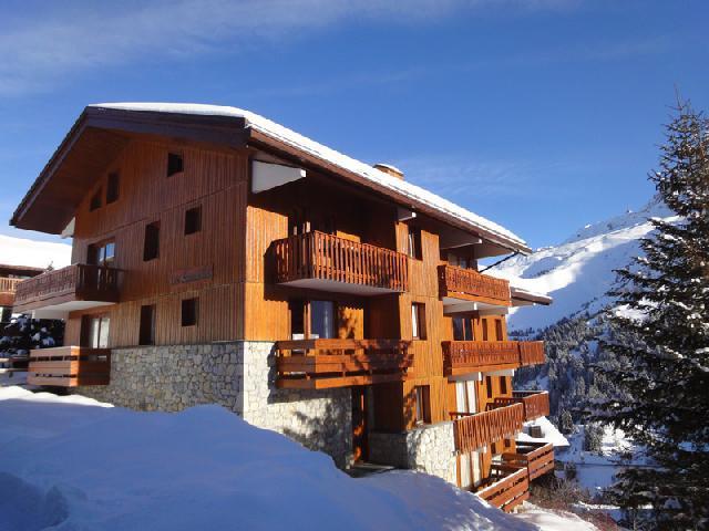 Location au ski La Residence Sonnailles - Mottaret - Extérieur hiver