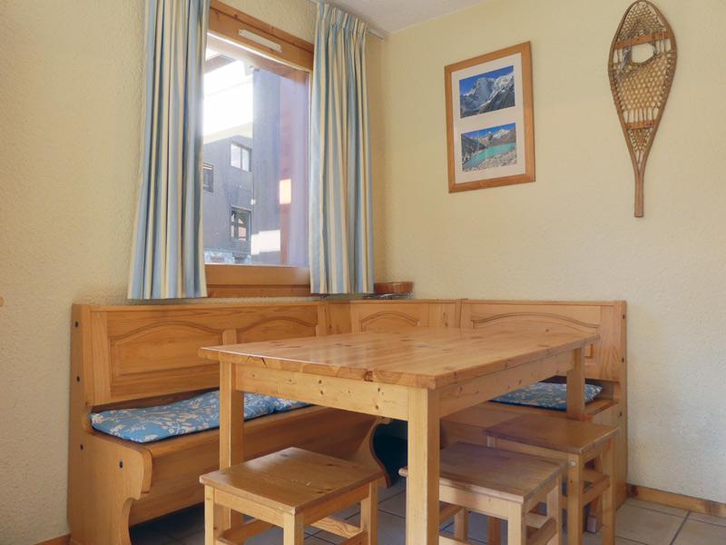 Location au ski Appartement 2 pièces 4 personnes (B10) - Residence Alpinea - Méribel-Mottaret - Coin repas