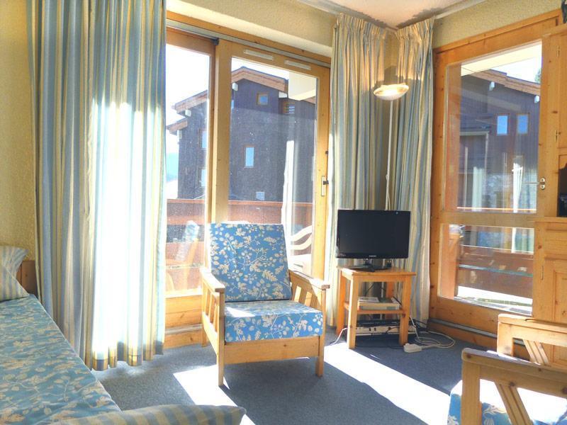 Location au ski Appartement 2 pièces 4 personnes (B10) - Residence Alpinea - Méribel-Mottaret - Séjour