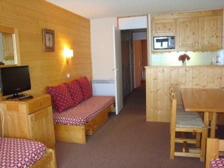 Location au ski Appartement 2 pièces 5 personnes (049) - Residence Arpasson - Mottaret - Appartement