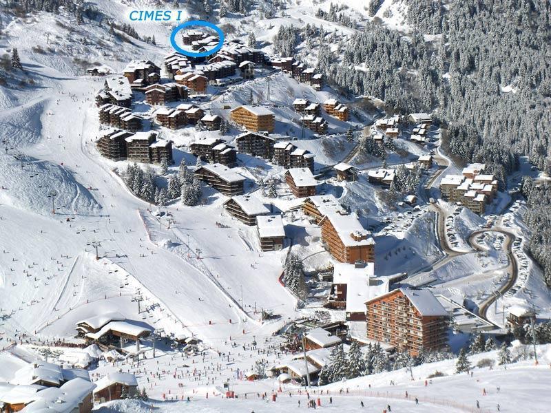 Location au ski Residence Cimes I - Mottaret