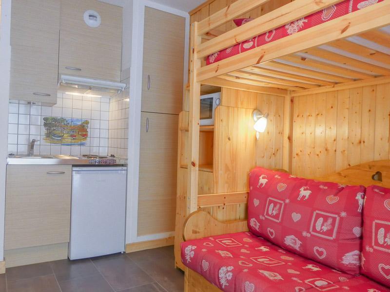 Location au ski Studio 2 personnes (004) - Residence Erines - Méribel-Mottaret