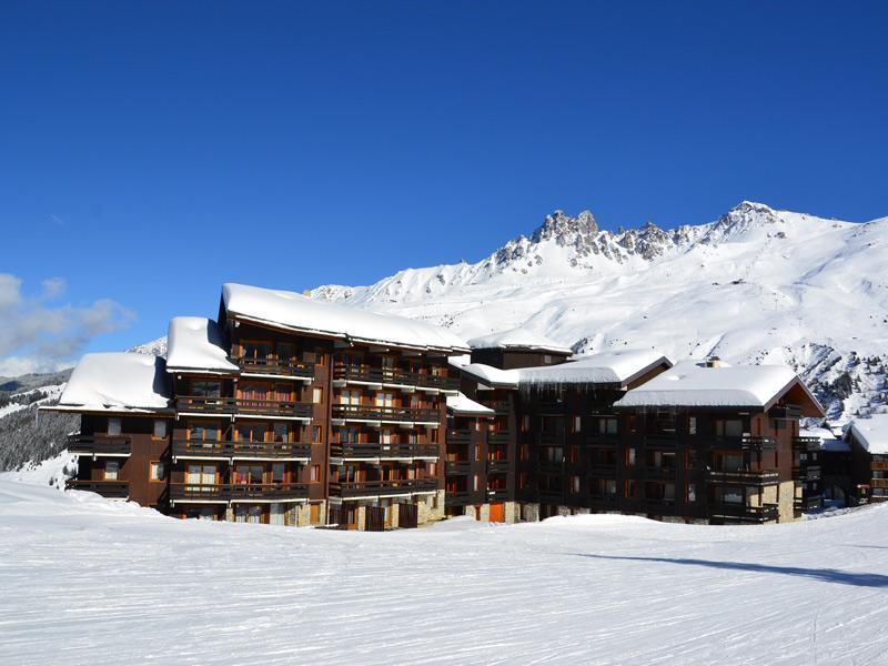 Location au ski Residence Lac Blanc - Méribel-Mottaret - Extérieur hiver
