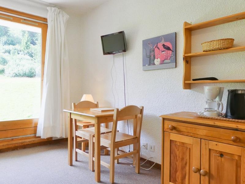 Location au ski Studio 2 personnes (C6) - Residence Lac Blanc - Méribel-Mottaret