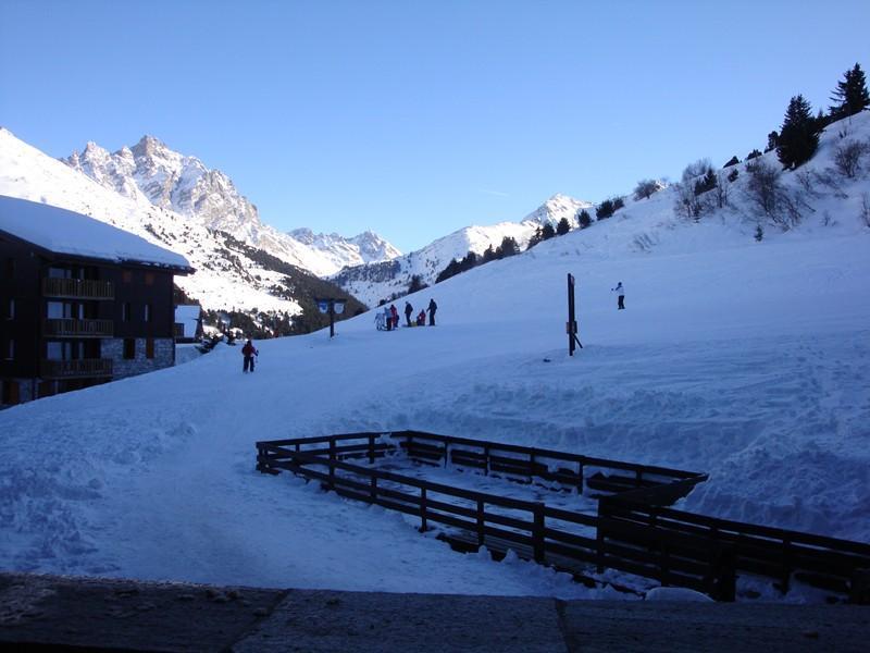 Location au ski Appartement 2 pièces 5 personnes (009) - Residence Le Creux De L'ours B - Méribel-Mottaret - Canapé