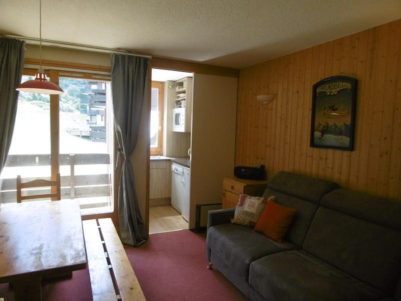 Location au ski Appartement 2 pièces 5 personnes (009) - Residence Le Creux De L'ours B - Méribel-Mottaret - Séjour
