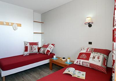 Location au ski Residence Le Hameau Du Mottaret - Mottaret - Chambre