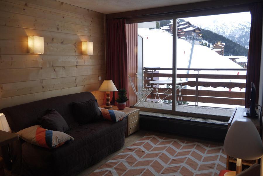 Location au ski Appartement 2 pièces 5 personnes (804) - Residence Le Ruitor - Méribel-Mottaret - Extérieur hiver