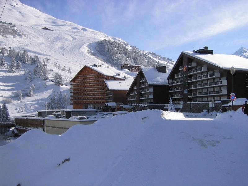 Location au ski Studio 4 personnes (474) - Residence Le Ruitor - Méribel-Mottaret - Extérieur hiver