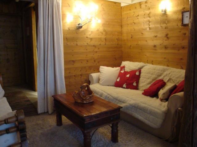 Location au ski Studio 4 personnes (474) - Residence Le Ruitor - Méribel-Mottaret - Canapé-lit