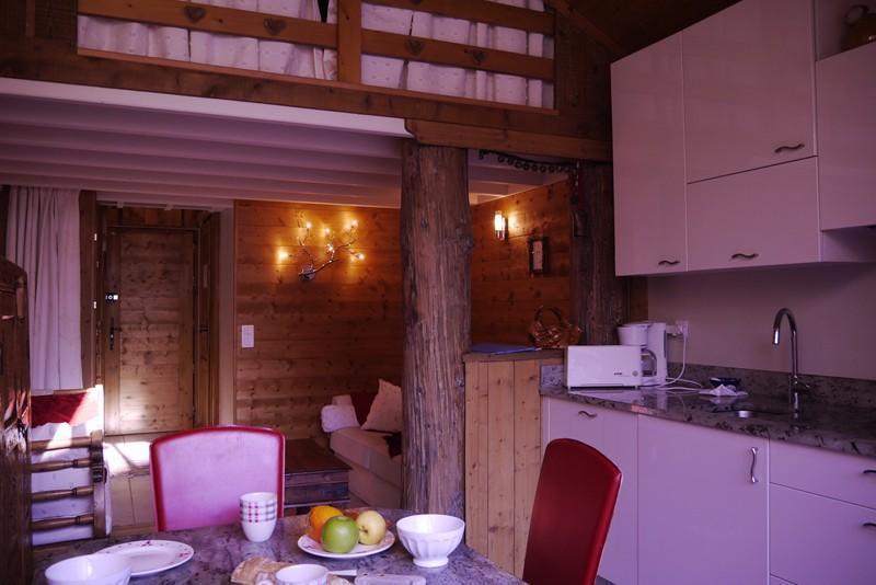 Location au ski Studio 4 personnes (474) - Residence Le Ruitor - Méribel-Mottaret - Lit double