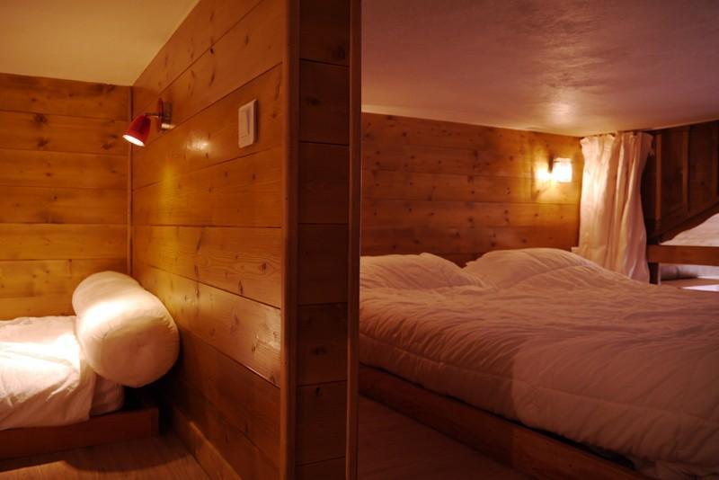 Location au ski Studio 4 personnes (474) - Residence Le Ruitor - Méribel-Mottaret - Lits superposés