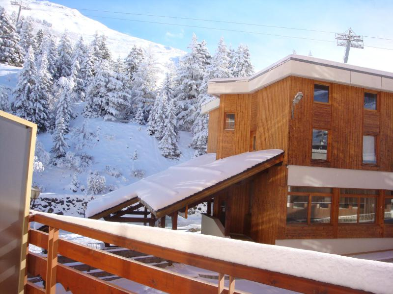 Location au ski Studio 4 personnes (474) - Residence Le Ruitor - Méribel-Mottaret - Salle de bains
