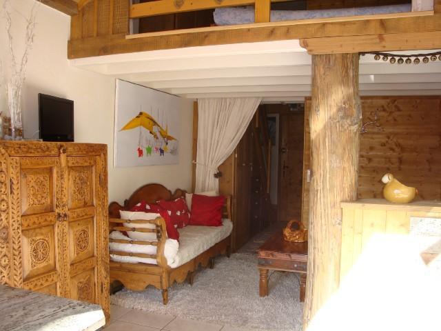 Location au ski Studio 4 personnes (474) - Residence Le Ruitor - Méribel-Mottaret - Séjour