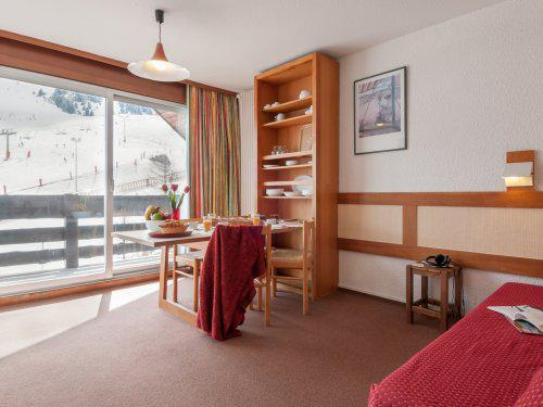 Location au ski Residence Maeva Les Bleuets - Mottaret - Séjour