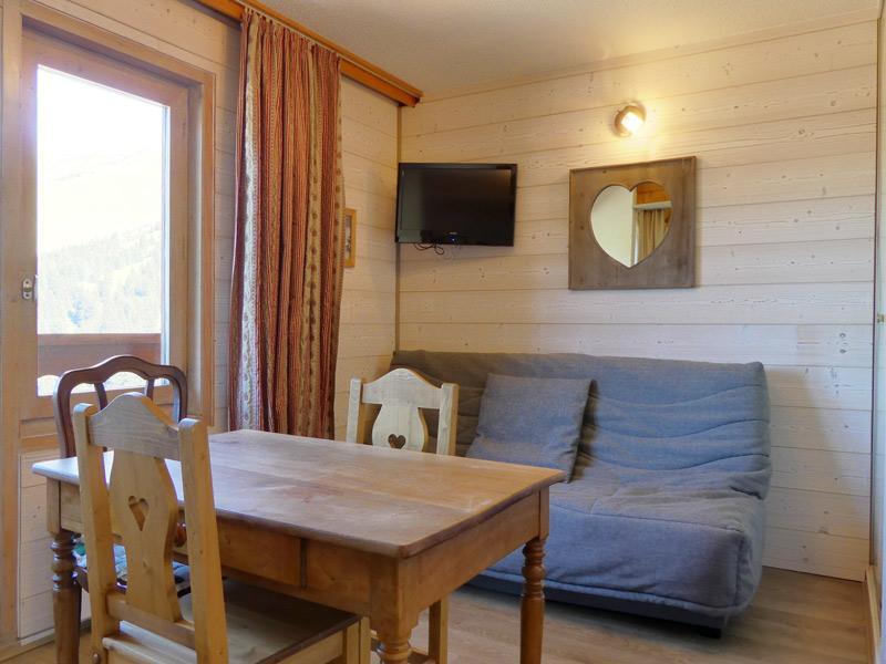 Location au ski Studio 3 personnes (034) - Residence Mont Vallon - Méribel-Mottaret