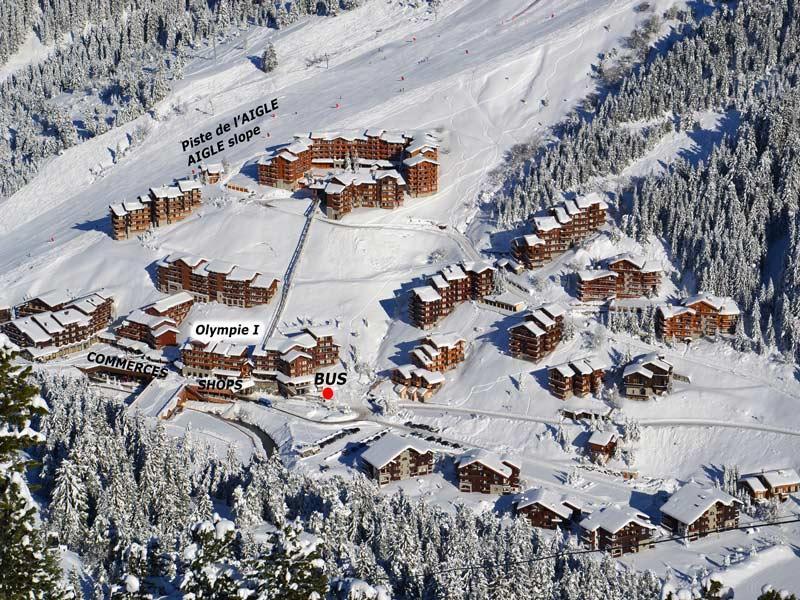 Location au ski Residence Olympie I - Mottaret - Extérieur hiver