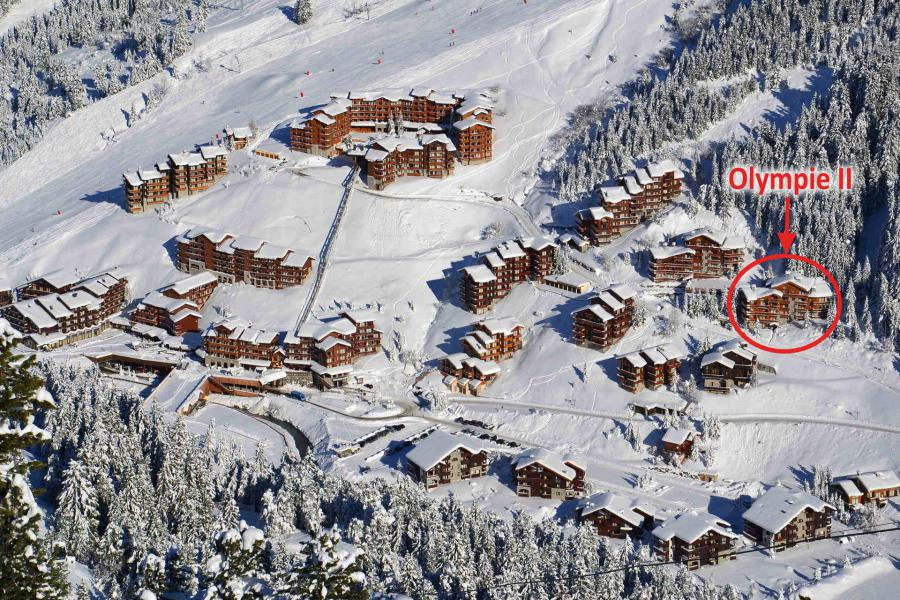 Location au ski Residence Olympie Ii - Méribel-Mottaret - Extérieur hiver
