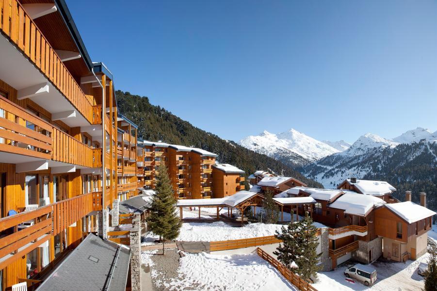 Location au ski Residence P&v Premium Les Crets - Méribel-Mottaret - Extérieur hiver