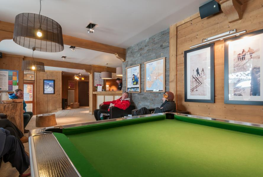 Location au ski Residence P&v Premium Les Crets - Mottaret - Billard