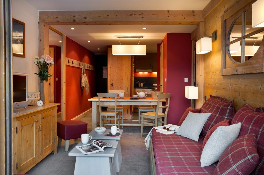 Location au ski Residence P&v Premium Les Crets - Mottaret - Canapé