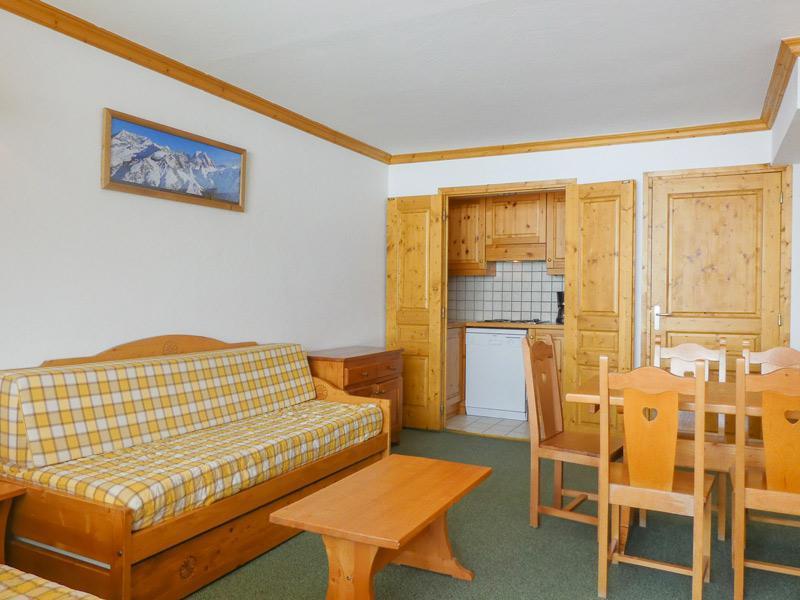 Location au ski Appartement 2 pièces 5 personnes (1007) - Residence Plein Soleil - Méribel-Mottaret
