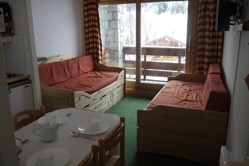 Location au ski Studio 4 personnes (386) - Residence Pralin - Mottaret