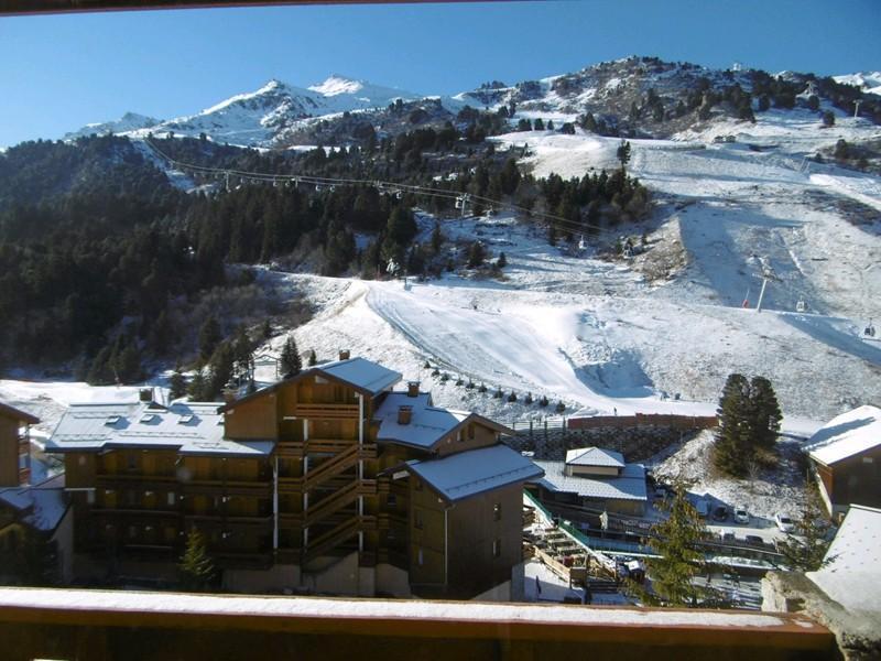 Location au ski Studio coin montagne 4 personnes (MO PRA 815T) - Residence Pralin - Méribel-Mottaret - Extérieur hiver