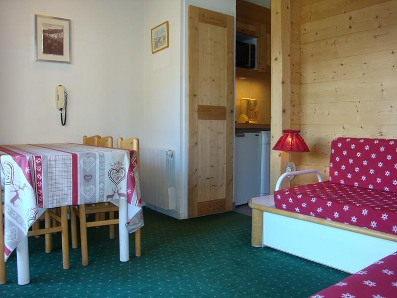 Location au ski Appartement 3 pièces cabine 6 personnes (371) - Residence Pralin - Mottaret - Kitchenette
