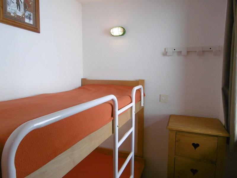 Location au ski Appartement 3 pièces cabine 6 personnes (450) - Residence Pralin - Méribel-Mottaret - Lits superposés