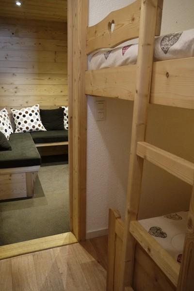 Location au ski Studio 5 personnes (501) - Residence Pralin - Méribel-Mottaret - Cabine