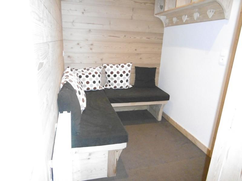Location au ski Studio 5 personnes (501) - Residence Pralin - Méribel-Mottaret - Canapé-lit