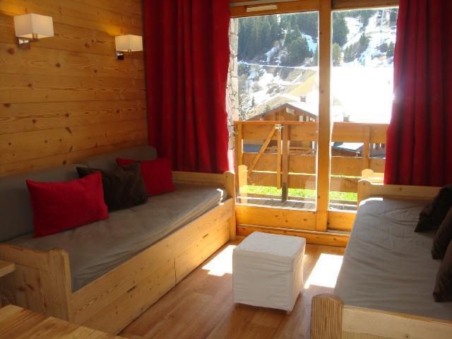 Location au ski Studio 5 personnes (501) - Residence Pralin - Méribel-Mottaret - Séjour