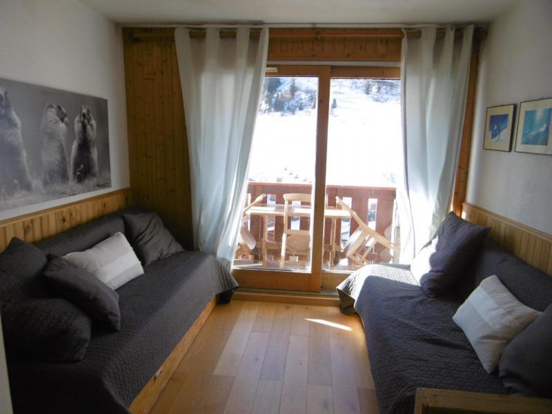Location au ski Studio coin montagne 4 personnes (MO PRA 815T) - Residence Pralin - Méribel-Mottaret - Canapé-lit