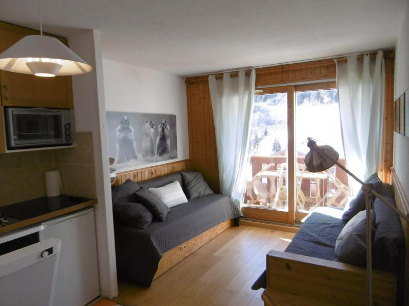 Location au ski Studio coin montagne 4 personnes (MO PRA 815T) - Residence Pralin - Méribel-Mottaret - Séjour