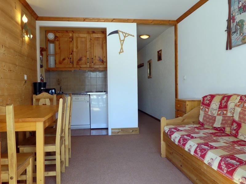 Location au ski Appartement 2 pièces 4 personnes (012) - Residence Proveres - Mottaret