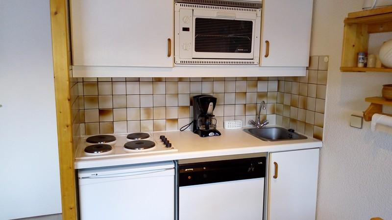 Location au ski Appartement 3 pièces cabine 6 personnes (013) - Residence Serac - Mottaret