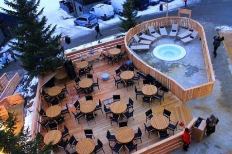 Location au ski Hotel Le Mottaret - Mottaret - Terrasse
