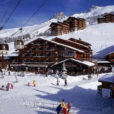 Location au ski Hotel Mont Vallon - Mottaret - Extérieur hiver