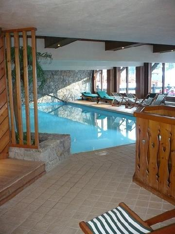 Location au ski Hotel Mont Vallon - Mottaret - Piscine