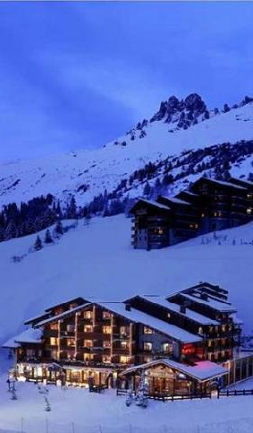 Location au ski Hotel Mont Vallon - Mottaret - Plan